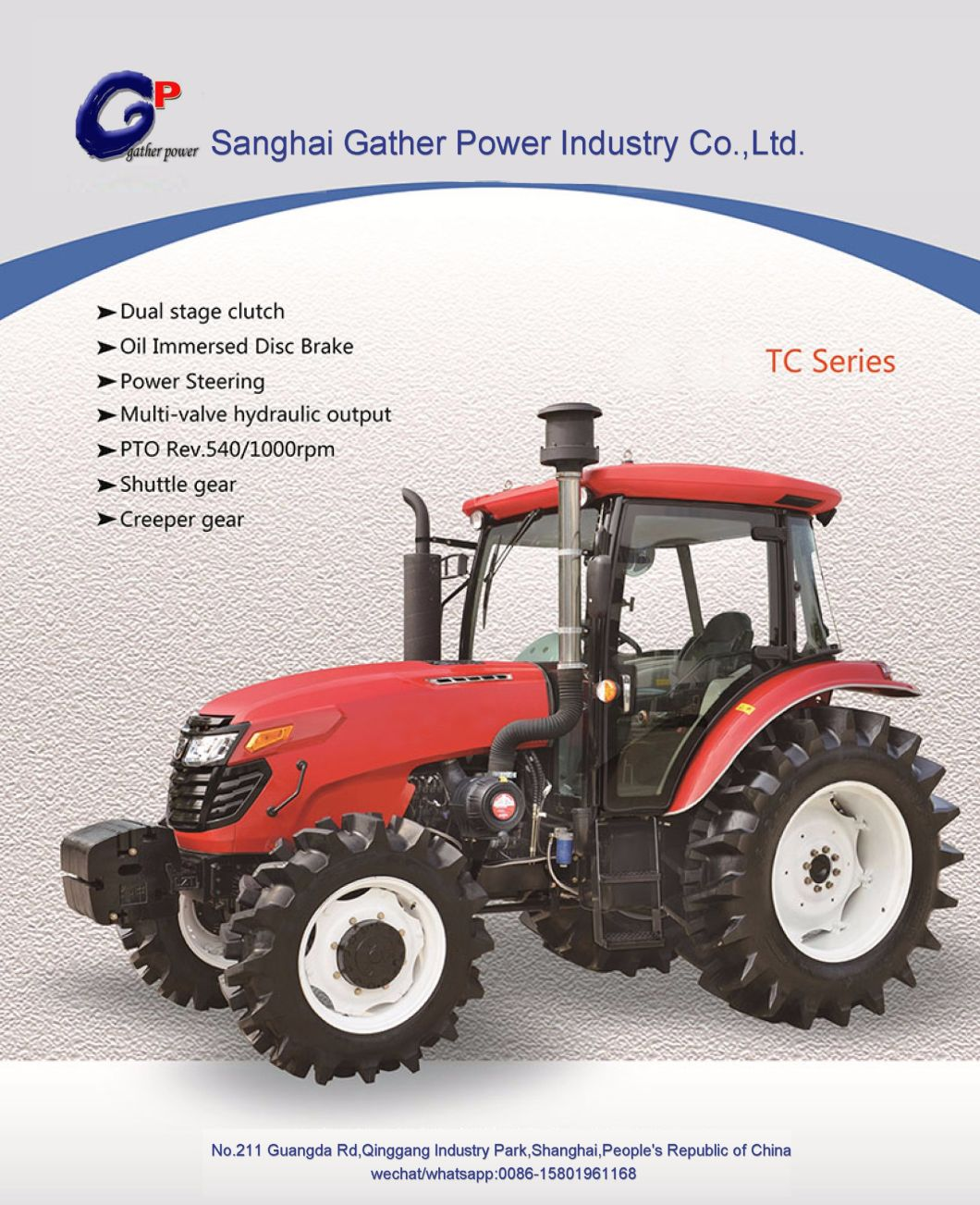 Good Quality 130HP Farm Tractor with Ce for Hot Sale